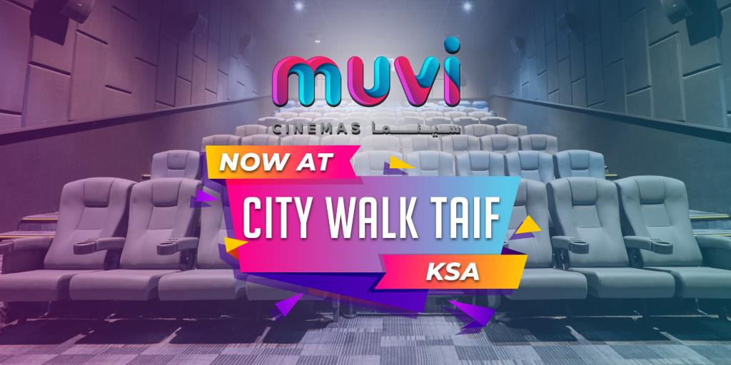 Muvi Cinemas City Walk Taif Launches at Taif, Saudi Arabia
